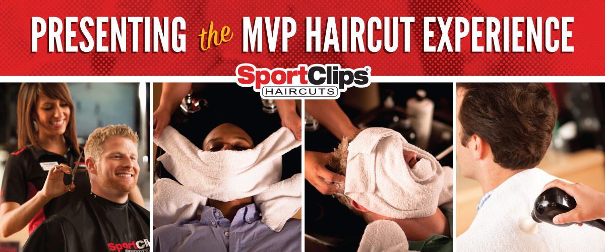 The Sport Clips Haircuts of Thousand Oaks MVP Haircut Experience